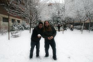 nuestro redactor Jorge Bobadilla y nuestro webmaster Darío