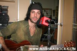 RICHIE KOTZEN en nuestros estudios de radio Mariskalrock