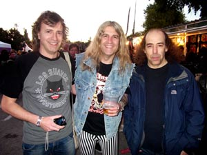 Con Sam y Potis de Rock Dam