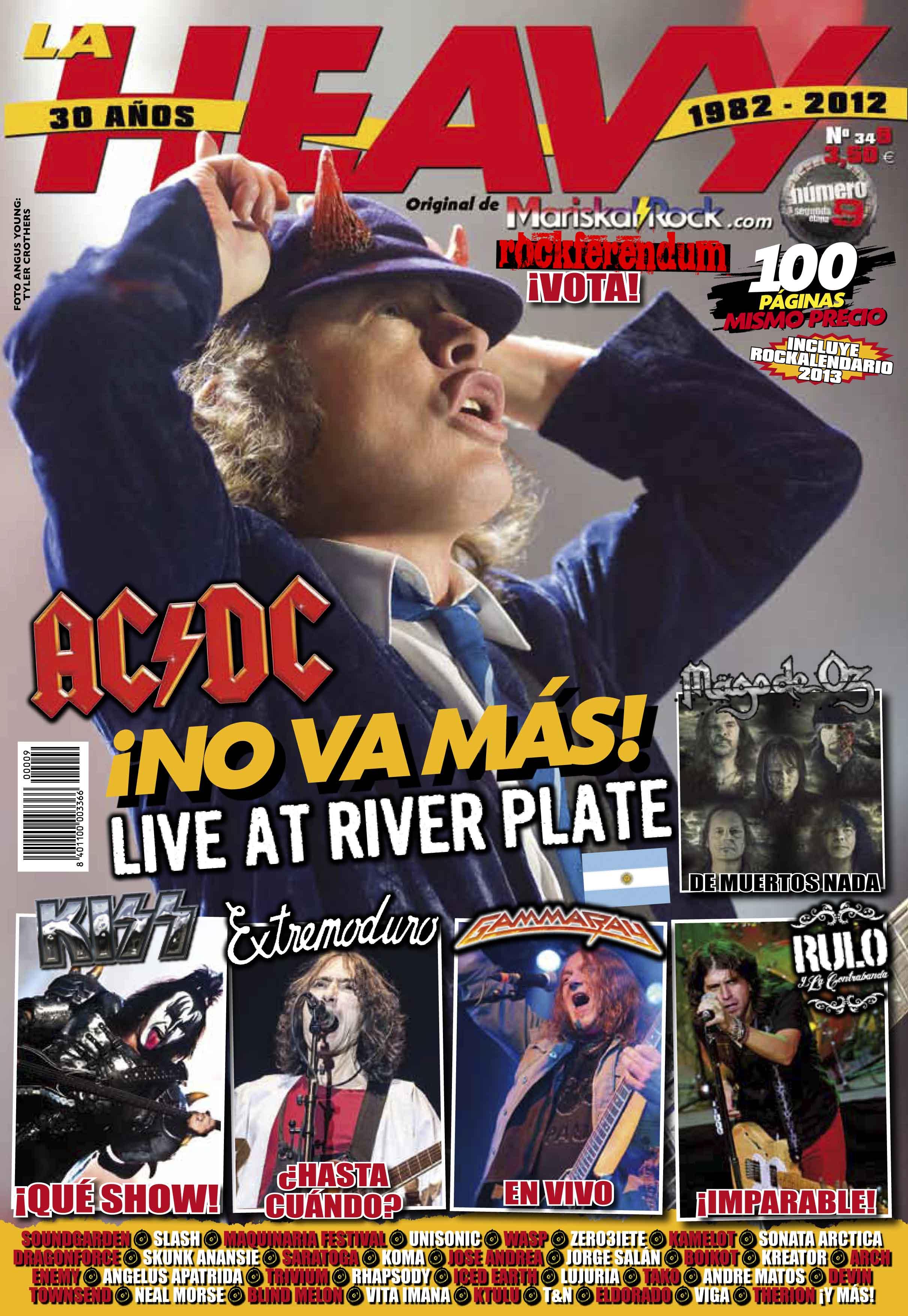 Suscribete a nuestra revista la heavy for Revista primicias ya hoy