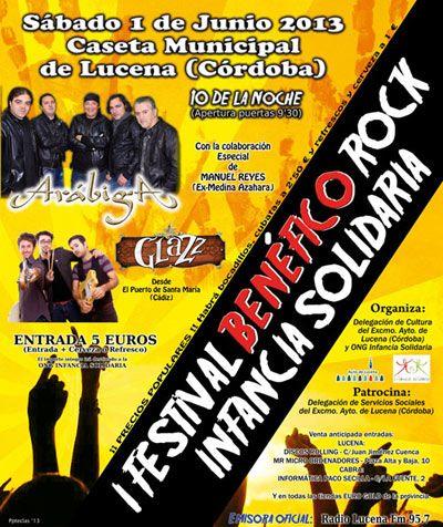 I Festival Benéfico Rock Infancia Solidaria