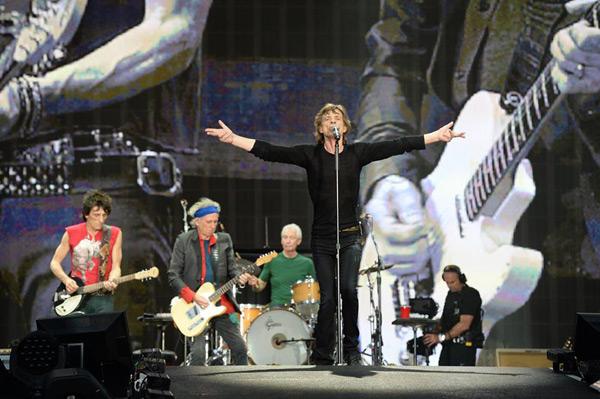The Rolling Stones. Foto: Dave Hogan (extraída del Facebook del grupo)