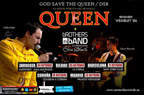 God Save The Queen / DSR + Brothers In Band