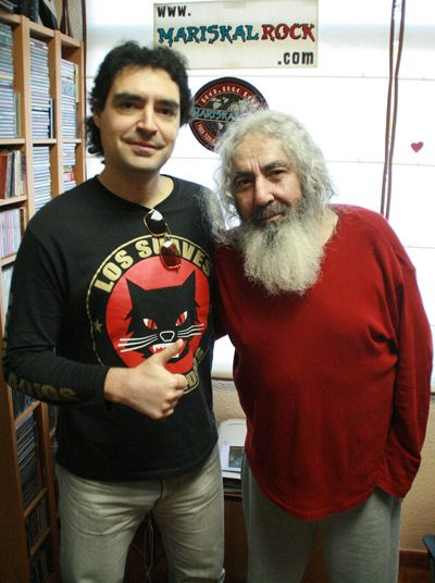 Tino y Yosi de Los Suaves. Foto: Juan Destroyer