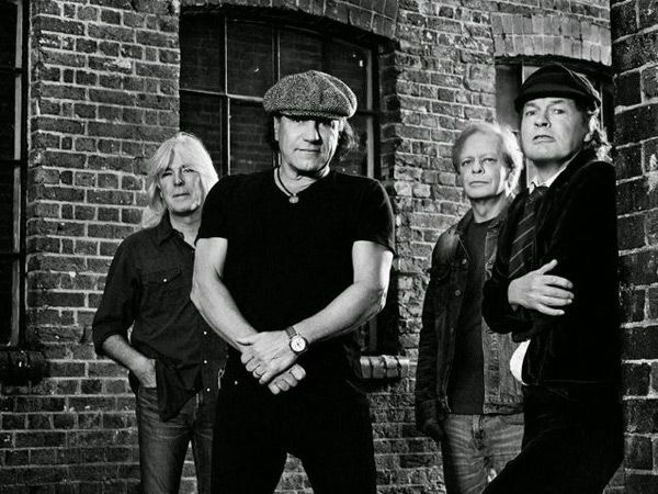 AC/DC en 2014, con Stevie Young... y sin Phil Rudd