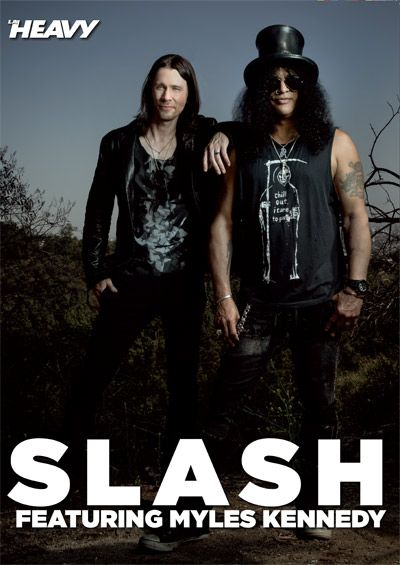 Poster de Slash y Myles Kennedy