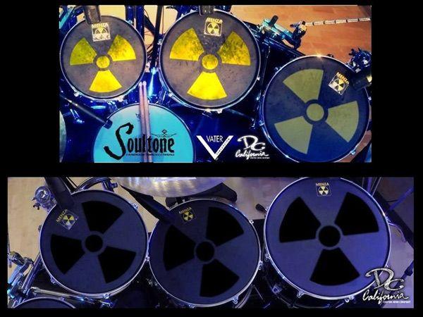 El nuevo kit de batreía de Nick Menza retrotrae a sus tiempos en Megadeth...