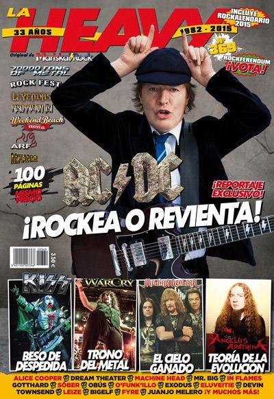 La Heavy nº369 con AC/DC en portada