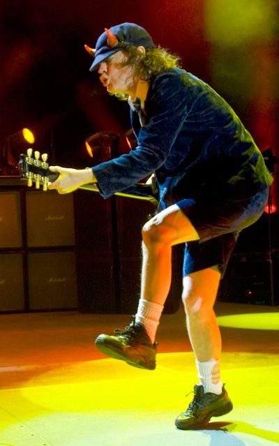 Angus Young. Foto: Taylor Crothers