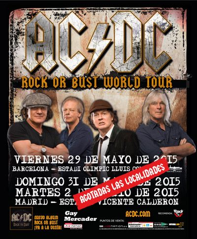 AC/DC - Rock or Bust World Tour