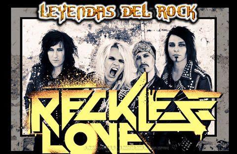 Reckless Love al Leyendas del Rock 2015