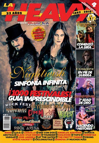 La Heavy nº372 con Nightwish en portada