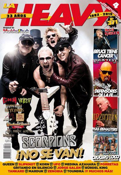 La Heavy nº371 con Scorpions en portada