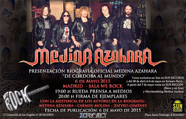 Canal version rock medina azahara presentar n su for Sala we rock