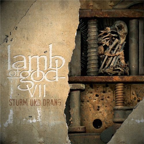 Portada Lamb of God VII: Sturm und Drang