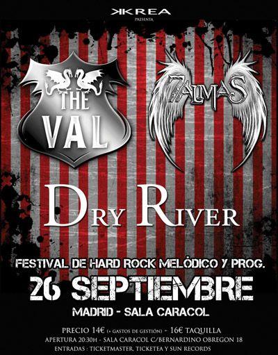 Festival de hard rock melódico y prog en Caracol