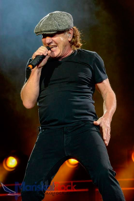Brian Johnson (AC/DC) en Madrid