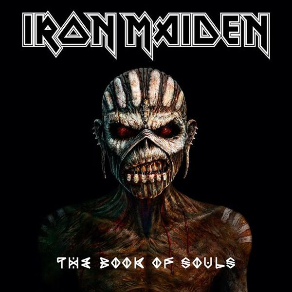 Portada del decimosexto disco de Iron Maiden The Book Of Souls
