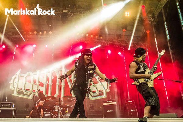 Loudness. Rock Fest Barcelona 2015. Can Zam, Santa Coloma de Gramenet