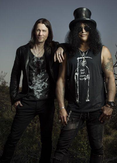[Entrevista] Slash: El problema son los periodistas que hacen preguntas estúpidas sobre Guns N' Roses (2015). Slash-y-Myles-Kennedy