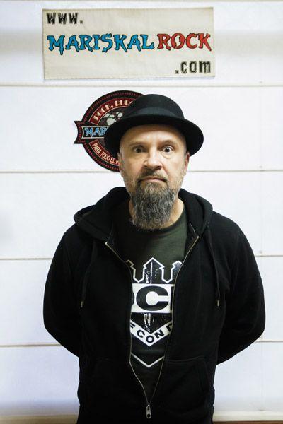César Strawberry, MC de Def Con Dos, en la radio online de MariskalRock