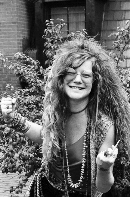 Janis Joplin en una foto de archivo (años 60)
