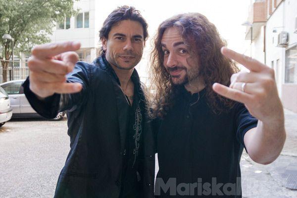 Leo y Juan. Foto: Aitor Nova