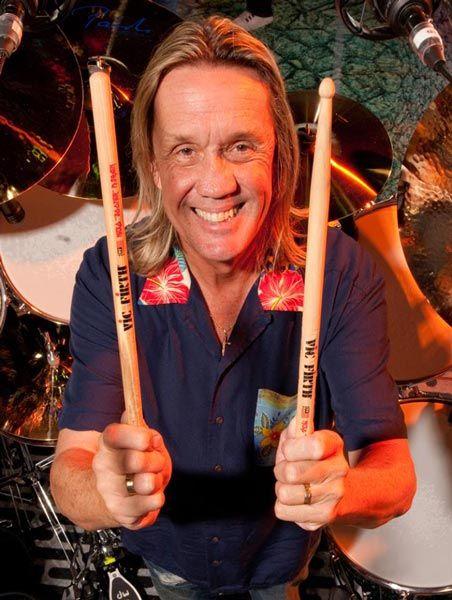 Nicko McBrain, batería de Iron Maiden, en una foto reciente