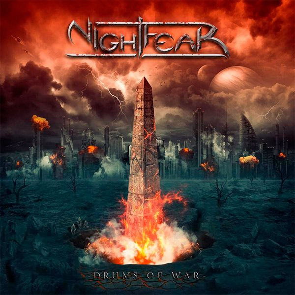 Nightfear y su segundo disco Drums of War