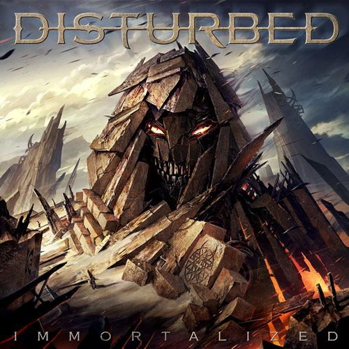 Portada del último disco de Disturbed: Immortalized