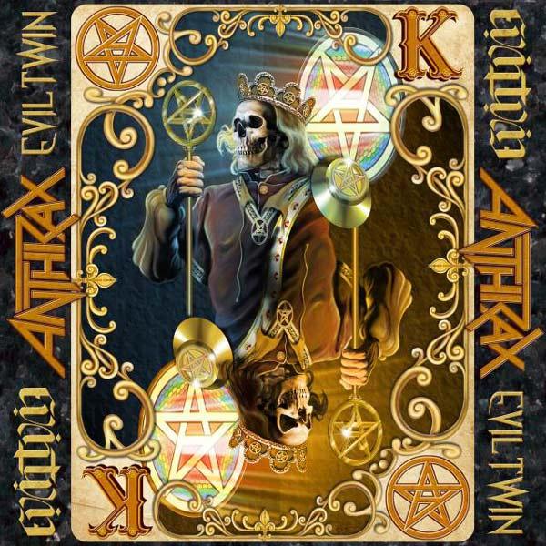 Portada de Anthrax 'Evil Twin', adelanto de su nuevo disco