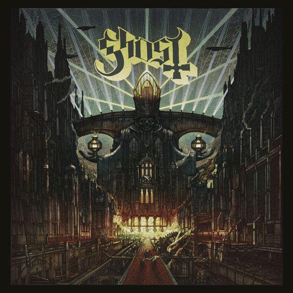 Portada del último disco de la banda Ghost, 'Meliora'