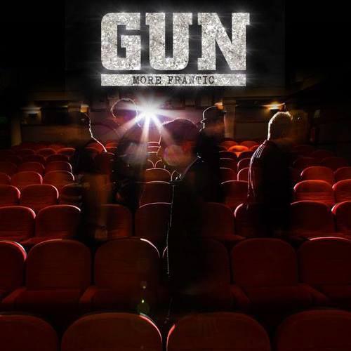 Portada del ultimo disco de Gun 'More Frantic'