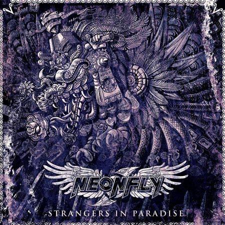 Portada del último disco de Neonfly 'Strangers in Paradise'