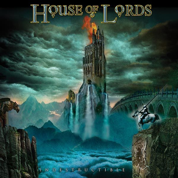 Portada del nuevo disco de House of Lords 'Indestructible'