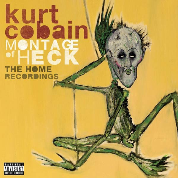 Portada del 'disco en solitario' Kurt Cobain 'Montage of Heck: The Home Recordings'