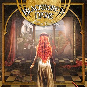 Portada del nuevo disco de la banda integrada por Ritchie Blackmore (ex Rainbow, ex Deep Purple) y su esposa Candice Night