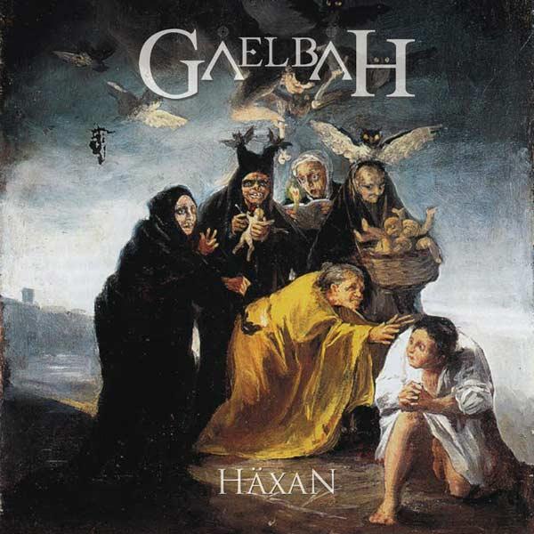 Portada del último disco de la banda de heavy metal Gaelbah 'Häxan'