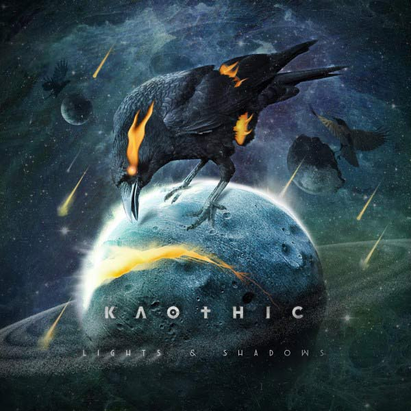 Portada del 2º disco de Kaothic 'Lights & Shadows'