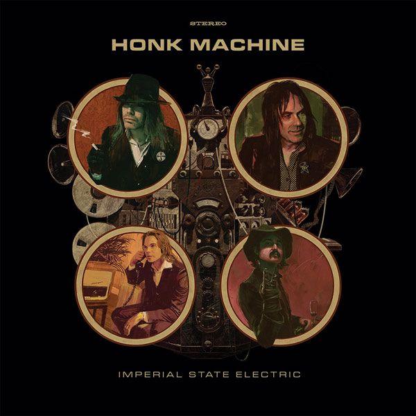 Portada del nuevo disco de Imperial State Electric 'Honk Machine'