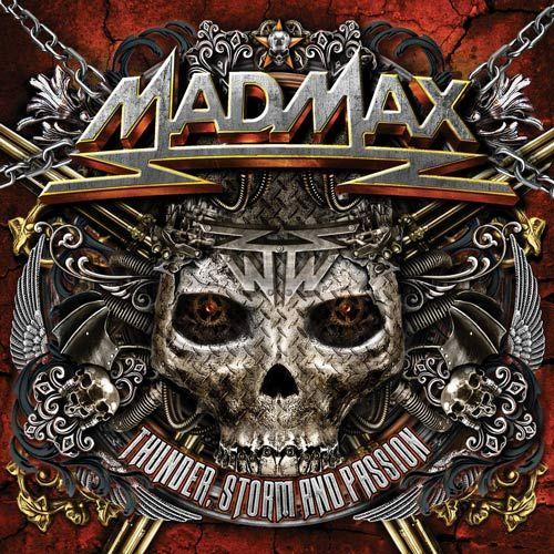 Portada del recopilatorio de Mad Max 'Thunder, Storm and Passion'