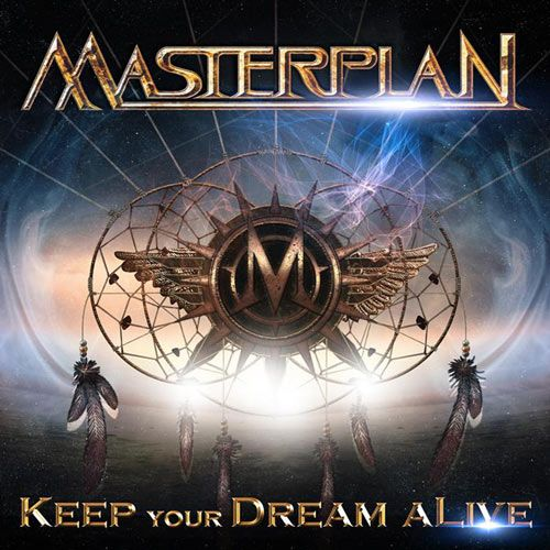 Portada del último disco de Masterplan 'Keep Your Dream Alive'