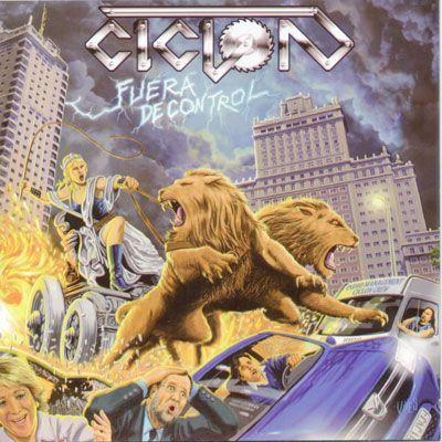 Portada del nuevo disco de Ciclón: 'Fuera de control'