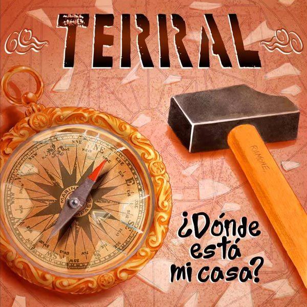 Portada del último disco de Terral: ¿Dónde está mi casa?