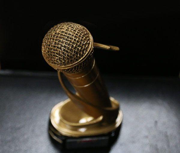 Trofeo de los premios Rockferéndum 2014