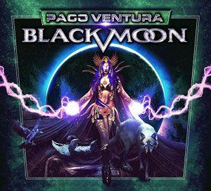 Paco Ventura Black Moon portada disco