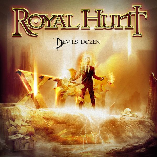 Portada de lo nuevo de Royal Hunt 'Devil's Dozen'