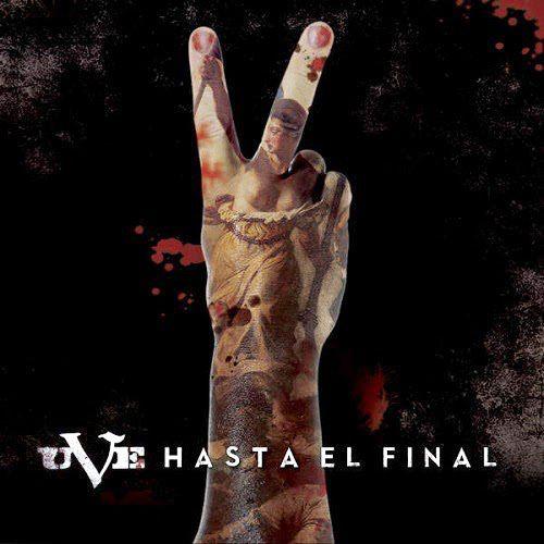 Portada del último disco de UVE: 'Hasta el final'