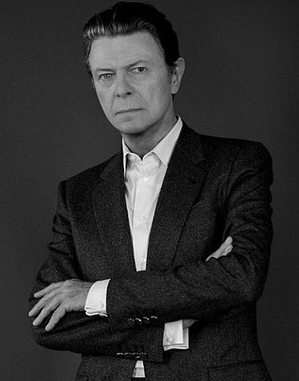 Foto promocional de David Bowie en 2016
