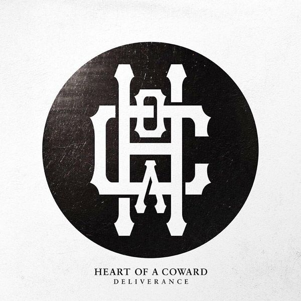 Portada del último disco de Heart Of A Coward, 'Deliverance'